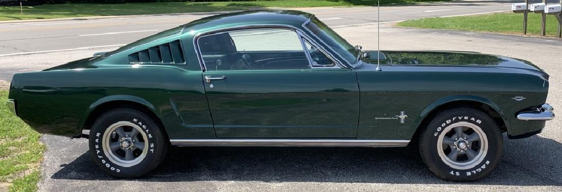 """1965 FORD MUSTANG FASTBACK 2+2 V8 """"BULLITT CLONE"""""""