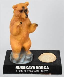 RUSSKAYA VODKA ADVERTISING FIGURE