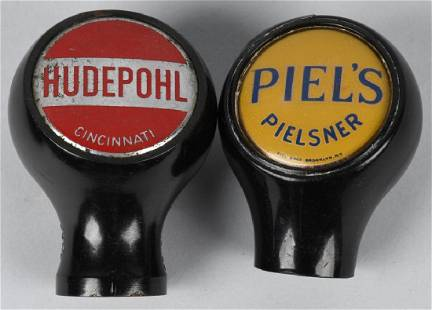 HUDEPOHL PIELS PIELSNER BEER TAP KNOBS