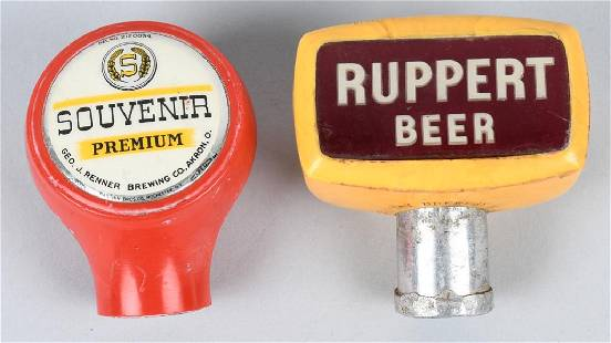 SOUVENIR PRMIUM RUPPERT BEER TAP KNOBS