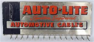 AUTOLITE AUTOMOTIVE CABLES DISPLAY SIGN