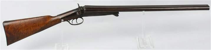 BELGIAN 12 GA. SxS HAMMER SHOTGUN
