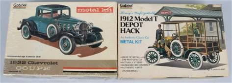2- HUBLEY METAL MODEL KITS MIB