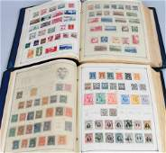 LARGE LOT of FOREIGN STAMPS iN 2 ALBUMS