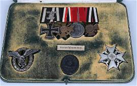 WWII NAZI GERMAN LUFTWAFFE PILOT MEDAL GROUPING