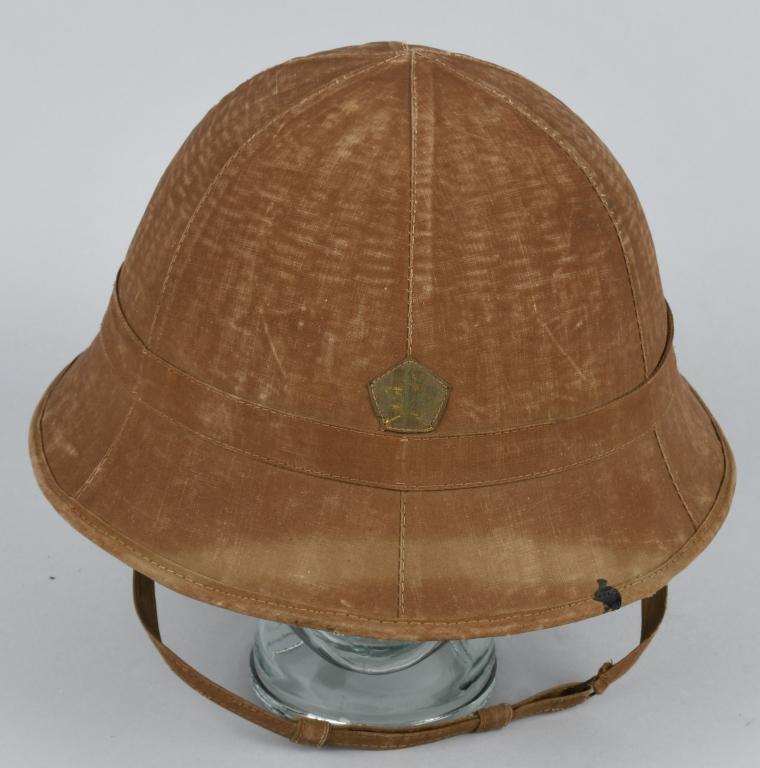WWII IMPERIAL JAPANESE TROPICAL SUN HELMET