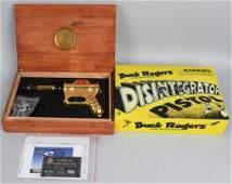 BUCK ROGERS DISINTEGRATOR PISTOL GOLD EDITION