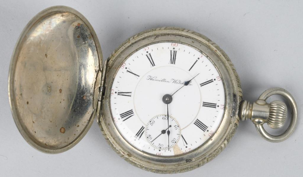 HAMILTON POCKET WATCH 18-S, 17-J, 1906
