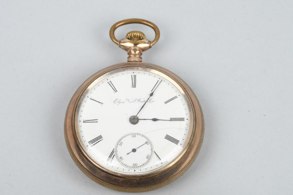 ELGIN POCKET WATCH 18-S, 17-J, 1907