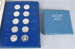 50 STATE BICENTENNIAL STERLING SILVER MEDAL SET