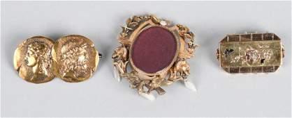 3- VICTORIAN PINS