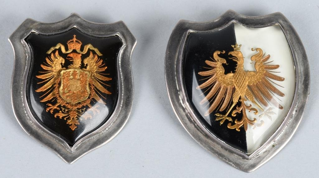 WW1 IMPERIAL GERMAN PATRIOTIC PINS IN STERLING