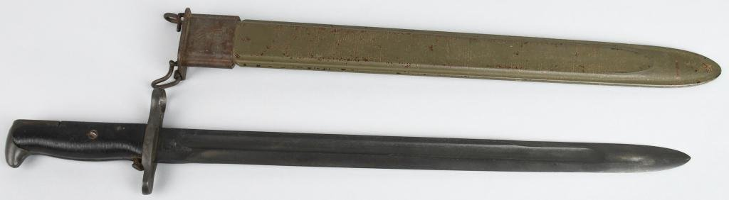 "WWII US M1 GARAND BAYONET 16"" UFH DATED 1942"