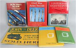 5 CIVIL WAR COLLECTOR REFERENCE BOOKS