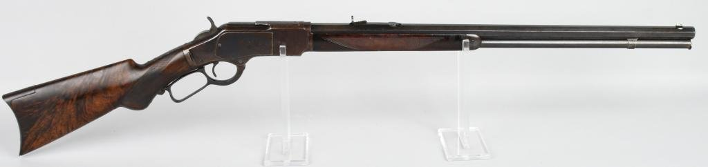 HIGH CONDITION WINCHESTER DELUXE 1873 .22 RIFLE