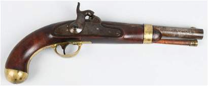 US MODEL 1842 PERCUSSION PISTOL