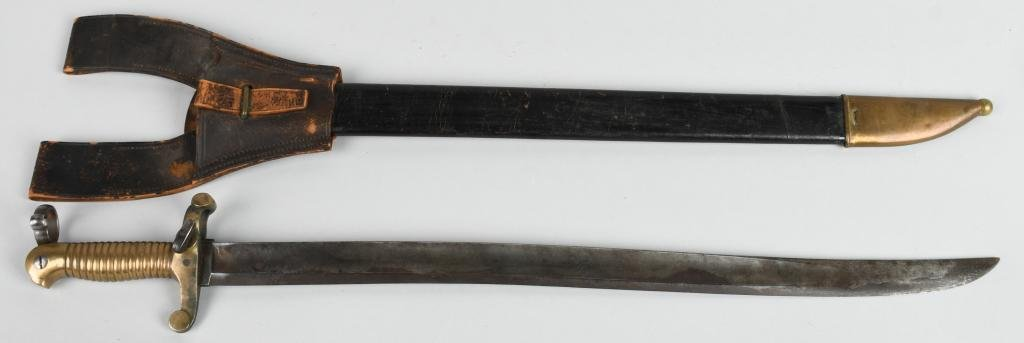 MODEL 1841 MISSISSIPPI SNELL CONVERSION BAYONET