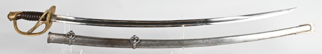 CIVIL WAR MODEL 1860 CAVALRY SWORD 1864 AMES