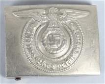 WWII NAZI GERMAN SS EMNCOS BELT BUCKLE OC MKD