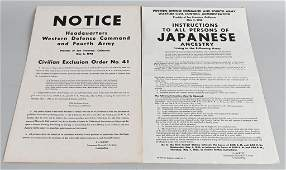 WWII ANTI JAPANESE POSTERS INTERNMENT POSTERS