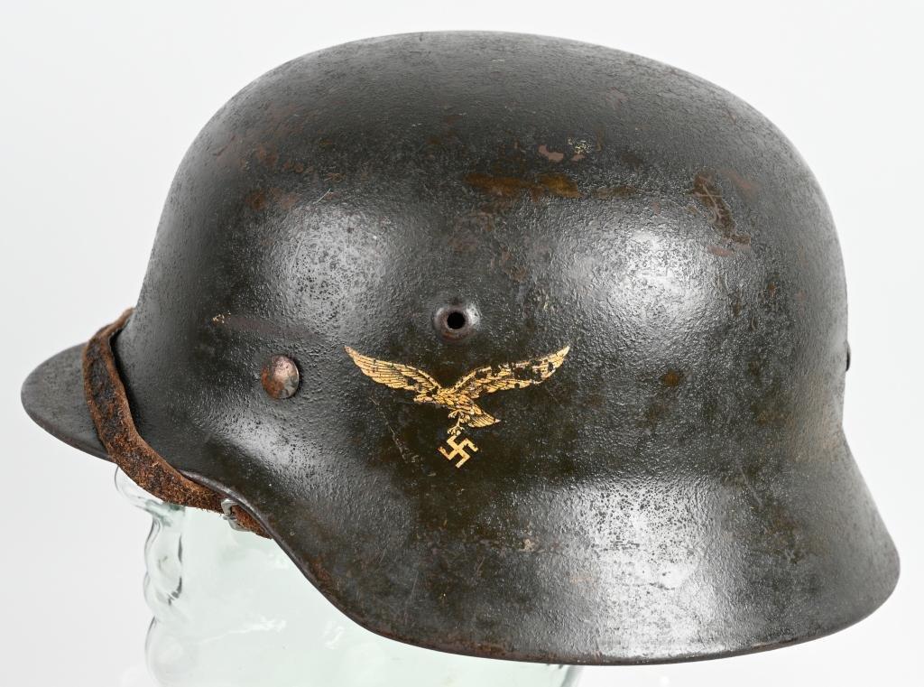 WWII NAZI GERMAN LUFTWAFFE M40 HELMET HKP64 LINER