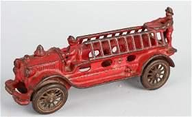 A.C. WILLIAMS cast iron 1930's FIRE LADDER TRUCK