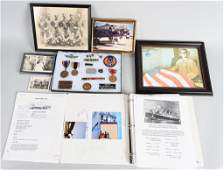 WWII US 8th AF POW STALAGLUFT 1 MEDALS PHOTOS ETC