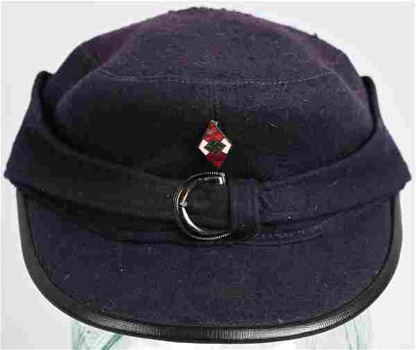 WWII NAZI GERMAN HITLER YOUTH SERVICE CAP WW2