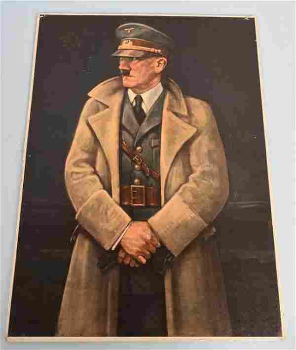 WWII NAZI GERMAN ADOLF HITLER PORTRAIT WW2