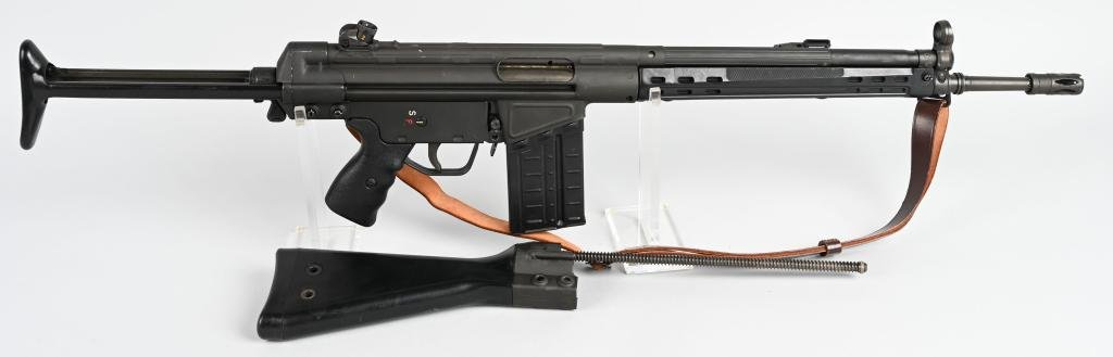 HECKLER & KOCH HK 41 SEMI AUTO7.62 NATO RIFLE