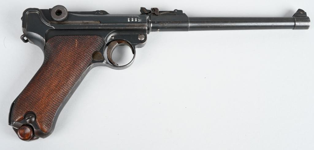 1917 DATE ARTILLERY LUGER