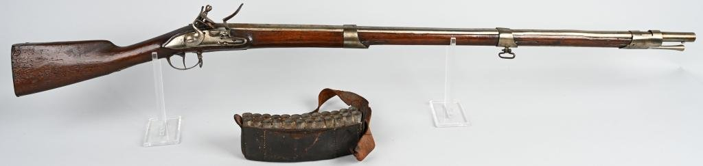 REV. WAR DUTCH 1760 FLINTLOCK MUSKET