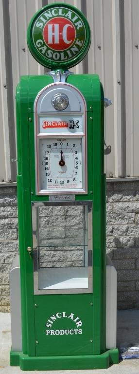 Wayne Model #60 Computing Gas Pump Restored