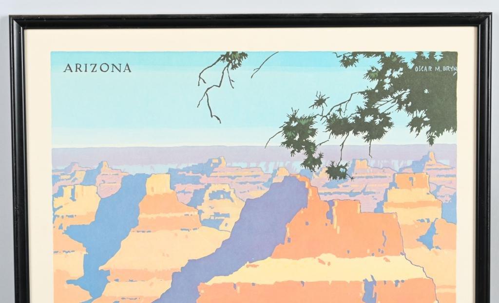 """Santa Fe Railroad """"Grand Canyon"""" Poster"""