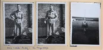 WWII NAZI GERMAN LUFTWAFFE NSFK PHOTO ALBUM WW2
