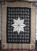 WWII GERMAN 3RD REICH SS TAPESTRY HOMAGE TRIBUTE