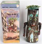 MARX Battery Op WHISTLING SPOOKY KOOKY TREE w/BOX