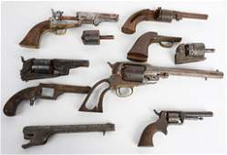 GUNSMITH LOT OF 7 ANTIQUE FIREARMS PARTS LOT