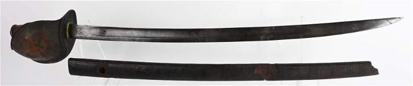 CIVIL WAR US NAVY CUTLASS M1860 DR INSPECTED 1862
