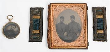 CIVIL WAR IMAGES AND ID'ed CAPTAIN STRAPS 72nd OVI