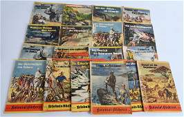 WWII NAZI GERMAN PROPAGANDA BOOK LOT OF 20 WW2