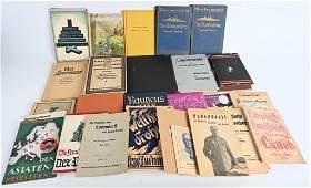 WWII NAZI GERMAN LOT OF 34 PERIOD BOOKS WW2