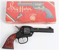 KILGORE BIG HORN CAP GUN w/ BOX