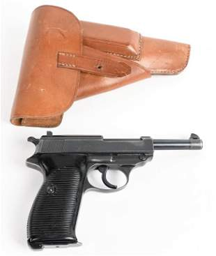 WW2 GERMAN P38 BYF43 CODE WITH HOLSTER