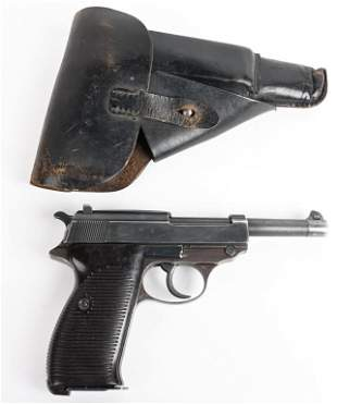 WW2 GERMAN WALTHER P-38 AC43 WITH HOLSTER