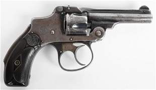 J.P.LOWER MARKED SMITH & WESSON 32 HAMMERLESS