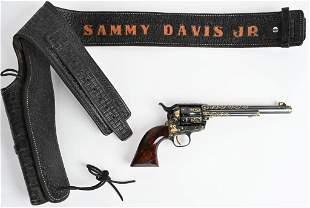 FABULOUS ENGRAVED GOLD SAMMY DAVIS COLT SAA