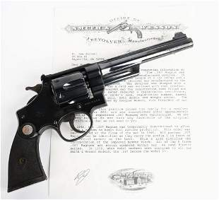 SMITH & WESSON REGISTERED MAGNUM REVOLVER 1937