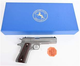 BOXED COLT SERIES 70 STAINLESS 1911-A1 PISTOL