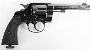 EARLY COLT NEW SERVICE REVOLVER